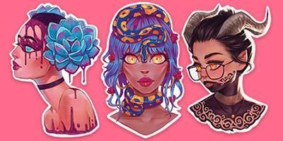 Sticker Set 4